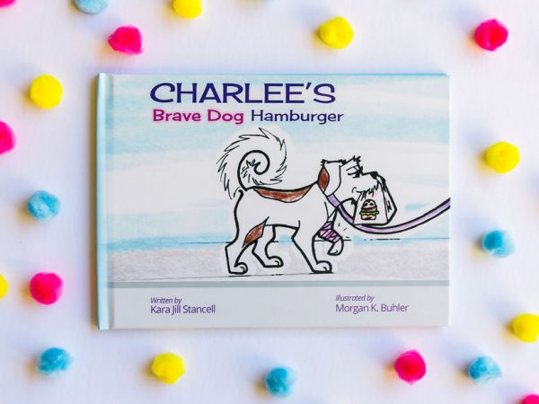 Charlee's Brave Dog Hamburger hardcopy