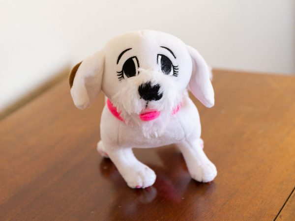 Charlee's Tales Plush Dog Face
