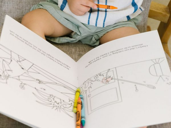 Charlee's Tales coloring book